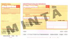 Készpénz átutalási megbízás min/1000db